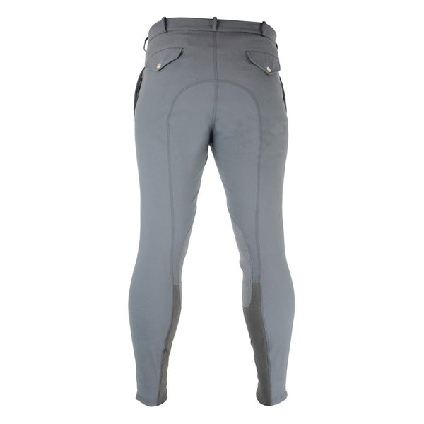 HyPerformance Welton Men's Breeches Dark Grey Rear