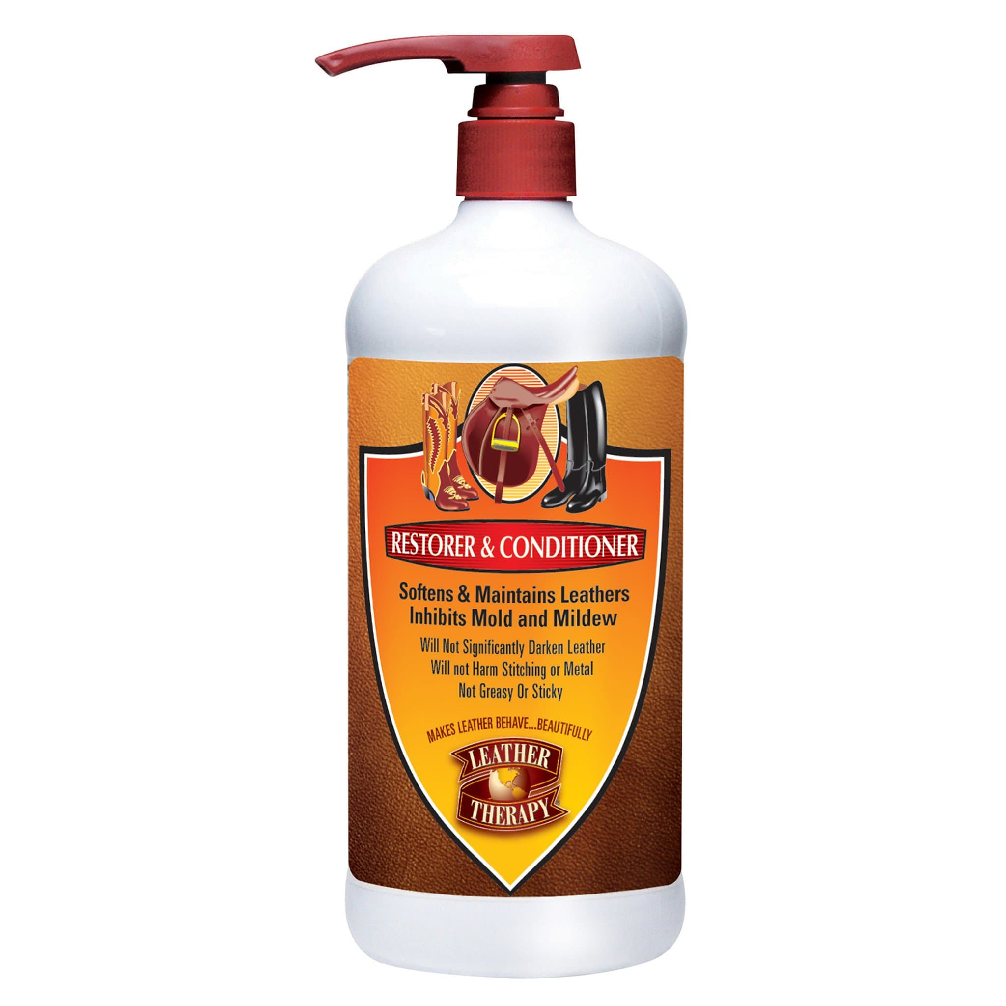 Absorbine Leather Therapy Restorer and Conditioner 473ML ABS0500.