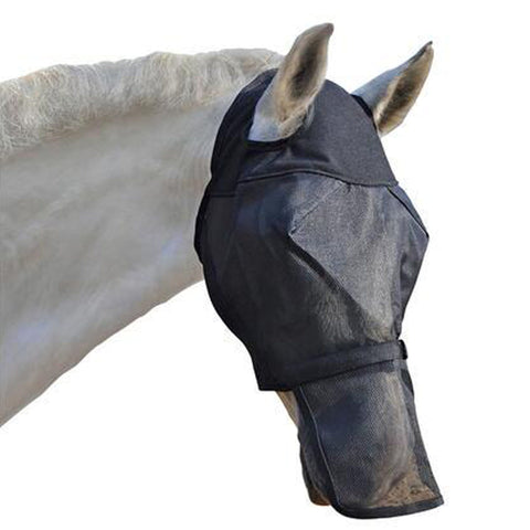 Absorbine Ultrashield Fly Mask with Removable Nose and no ears 17077