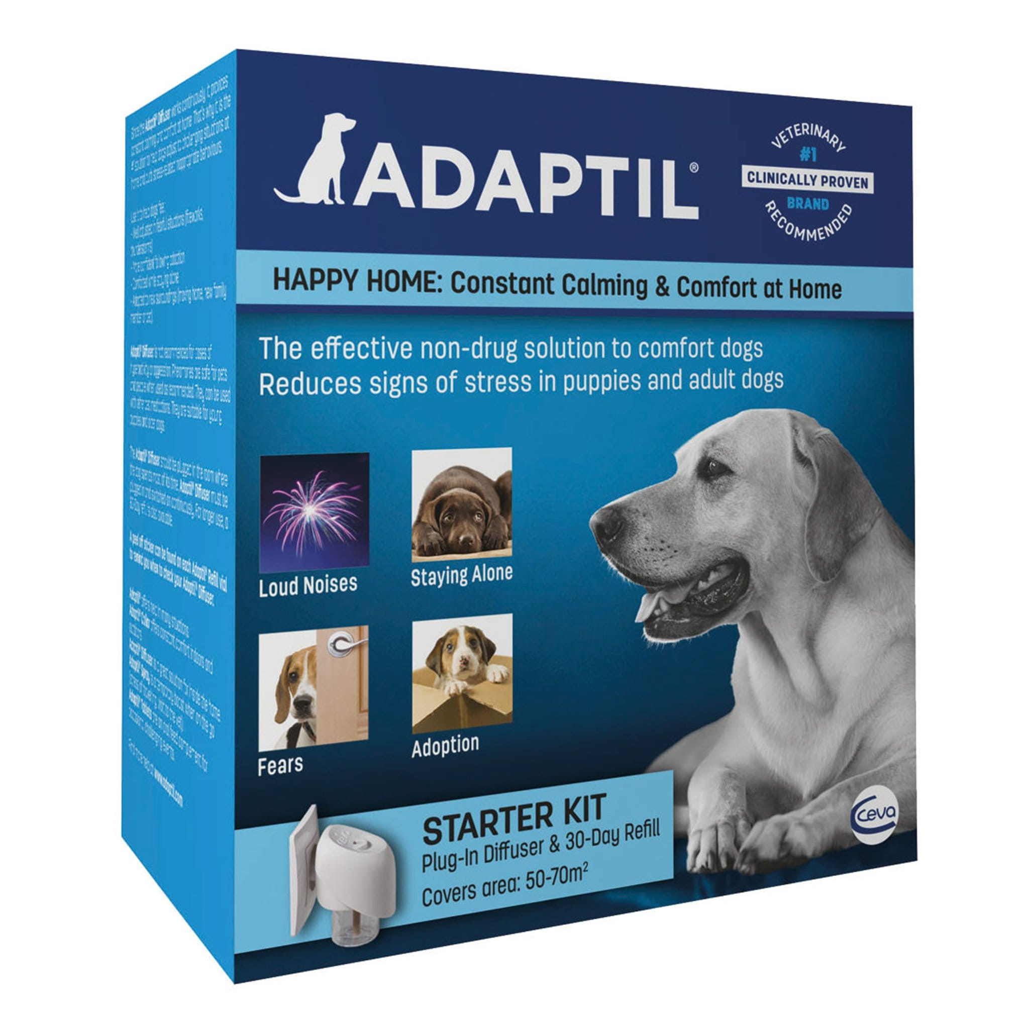 Adaptil For Dogs 7128 Starter Kit Plug-In