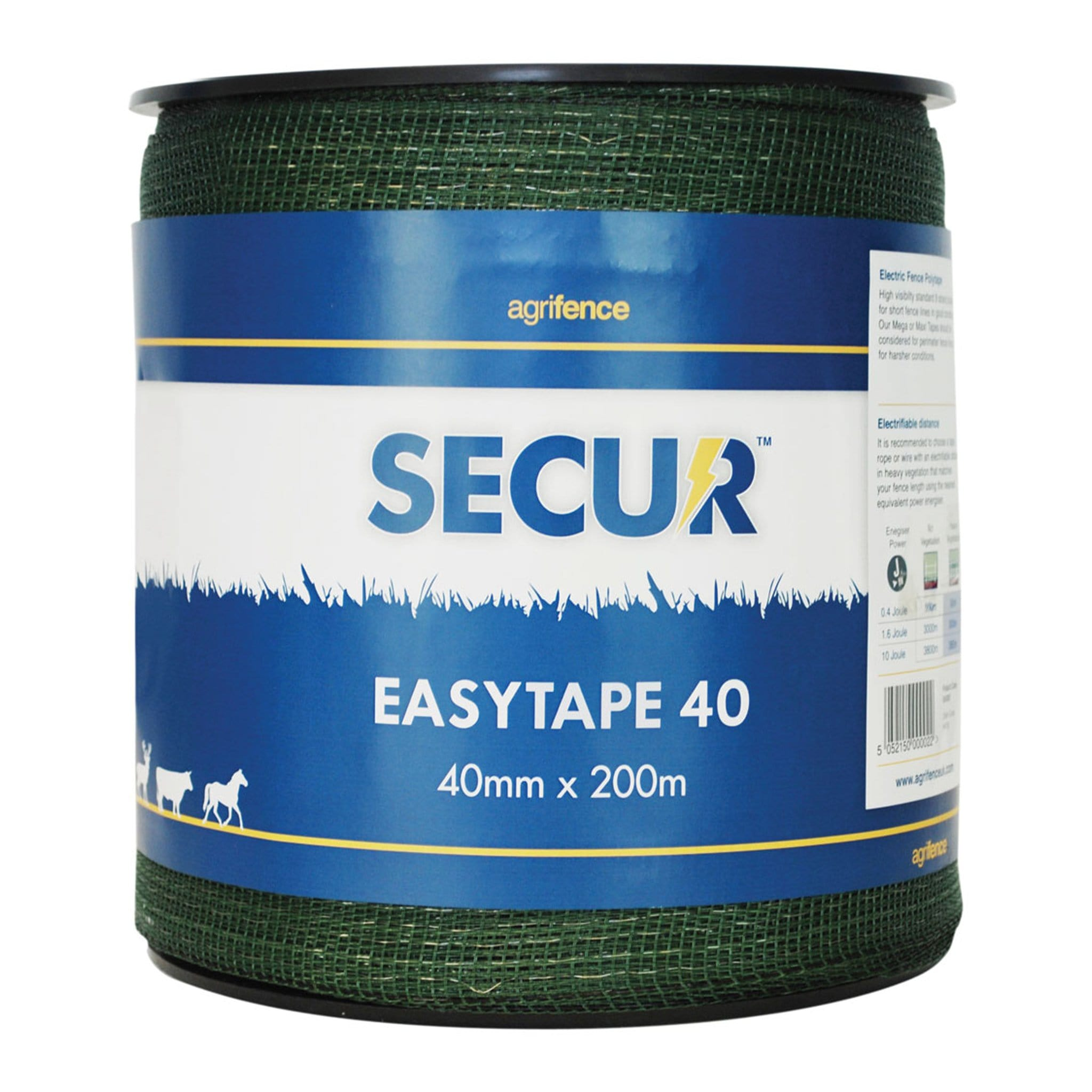 Agrifence Easytape Polytape in Green 1377