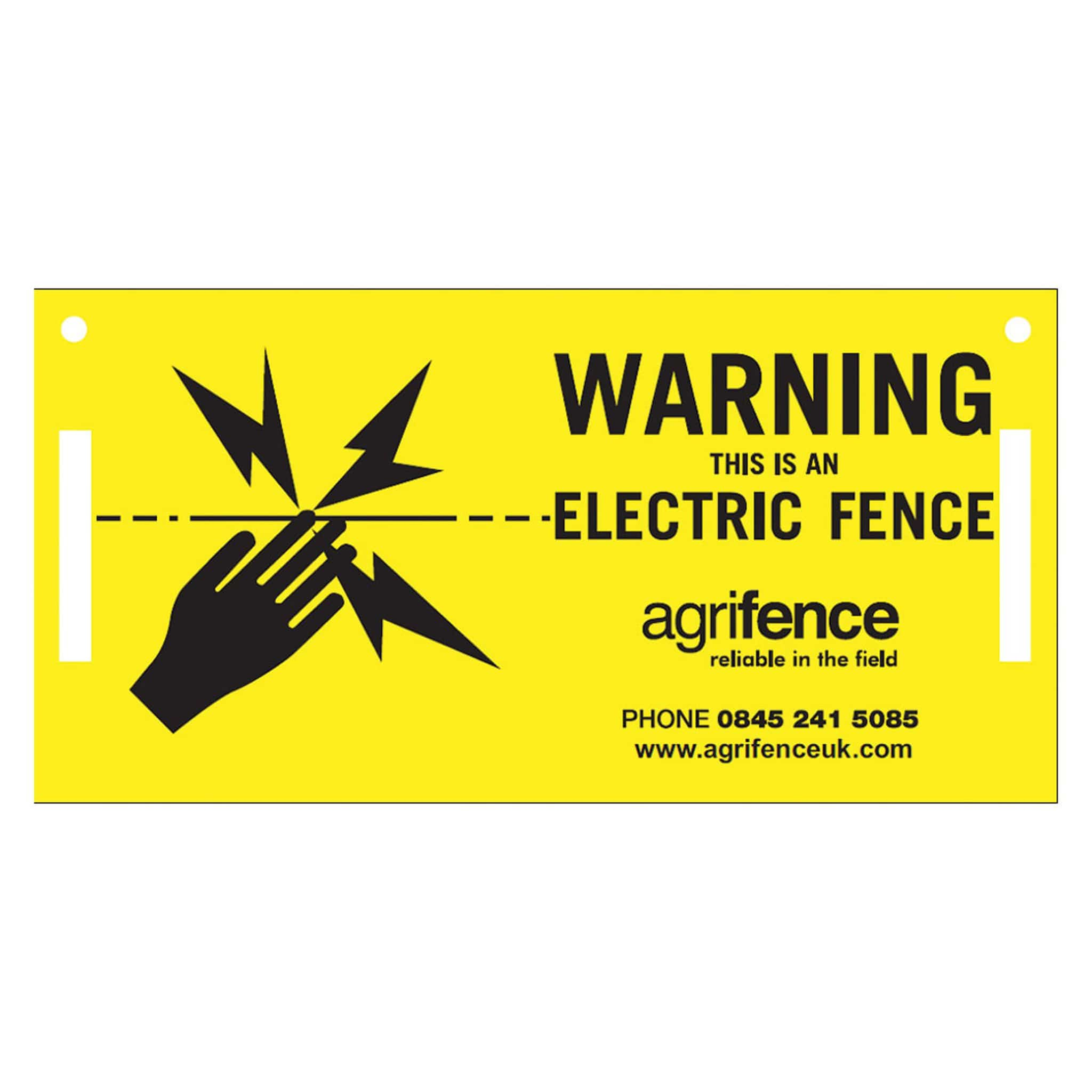 Agrifence Warning Signs 1332 Pack of 5