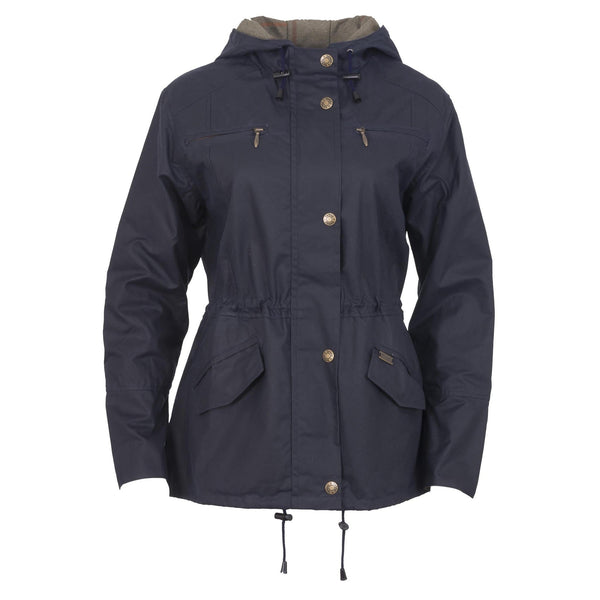 Toggi Ambia Ladies Wax Jacket Navy