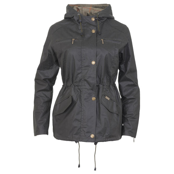 Toggi Ambia Ladies Wax Jacket Olive
