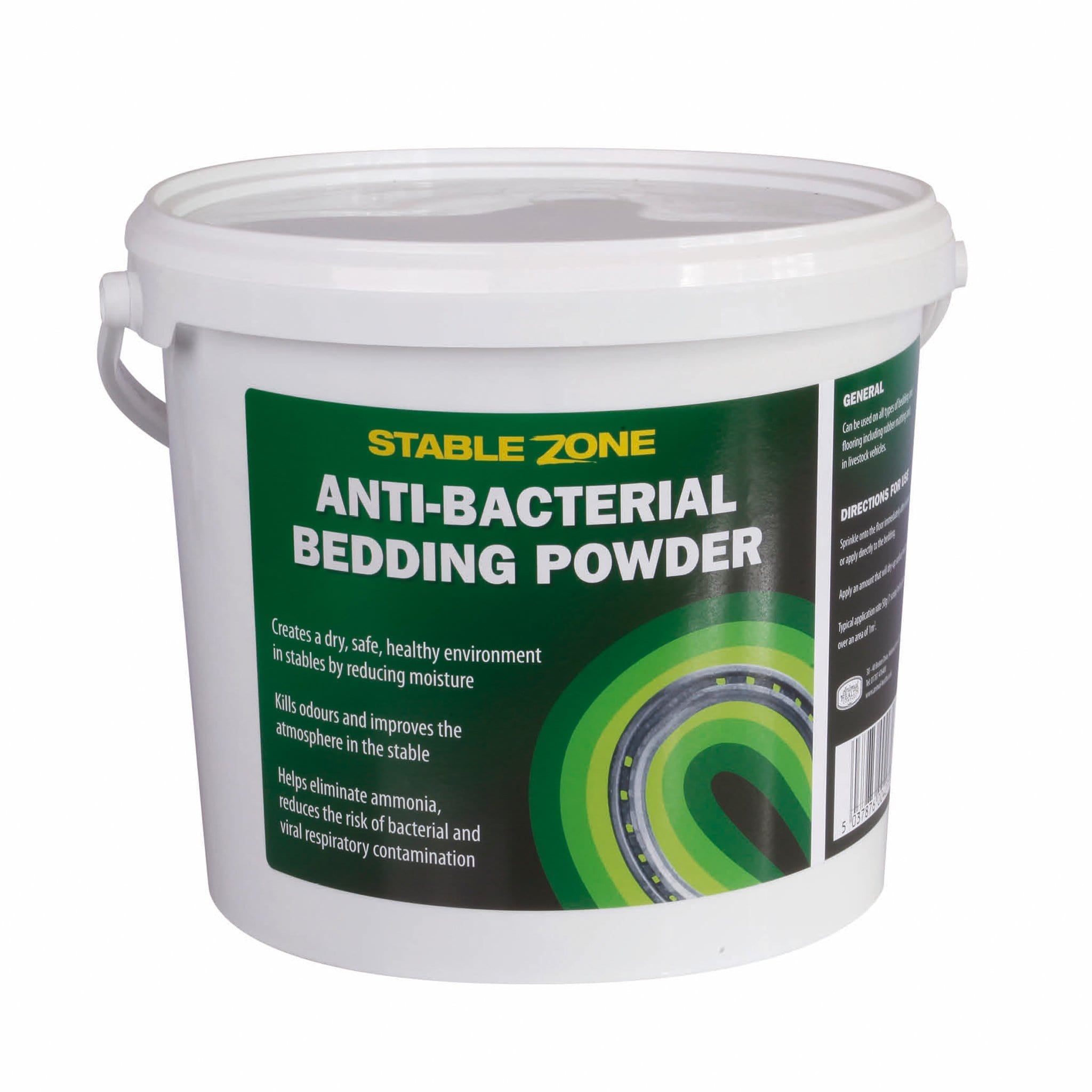 Animal Health Company Stablezone Antibacterial Bedding Powder 7389