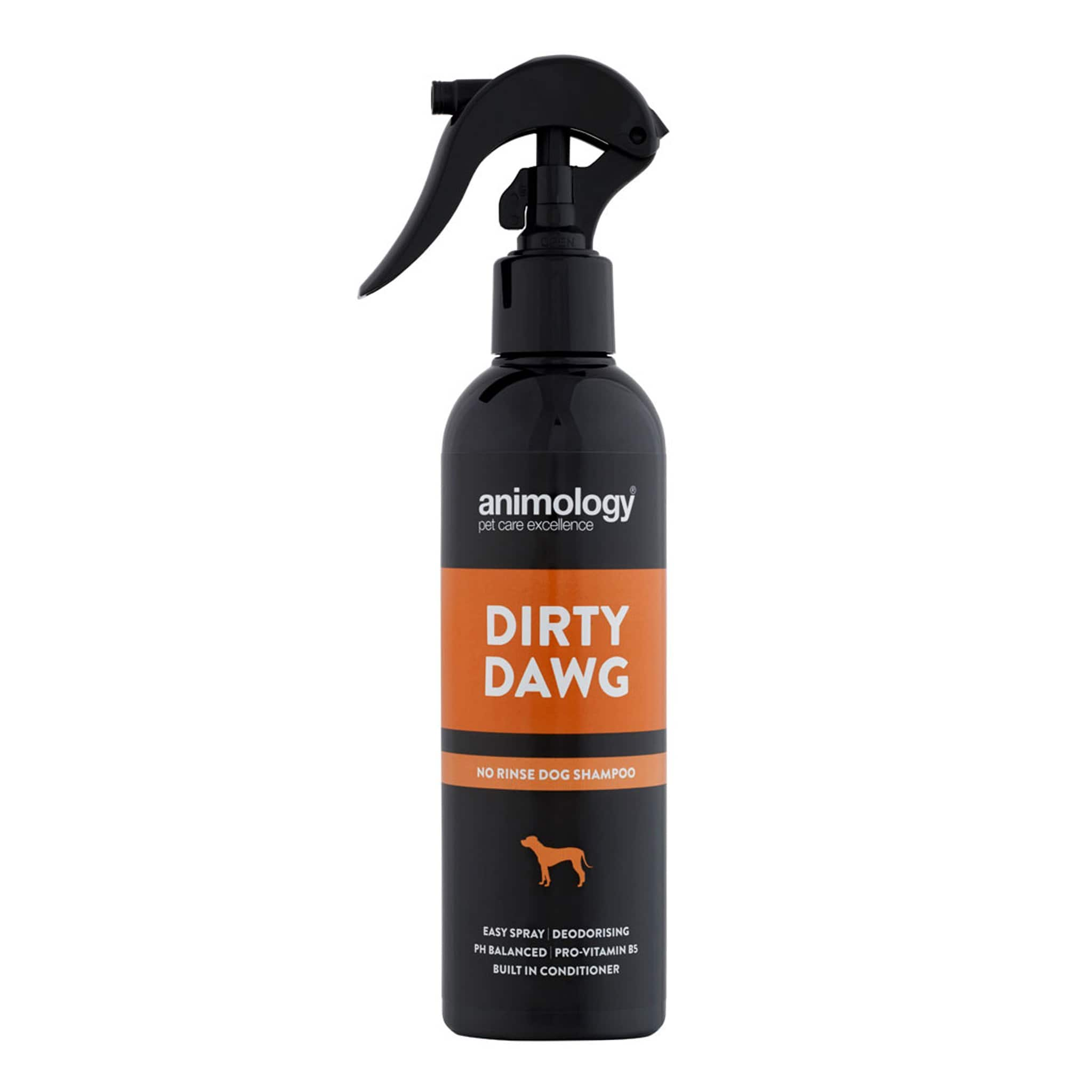Animology Dirty Dawg No Rinse Dog Shampoo 250ml Spray