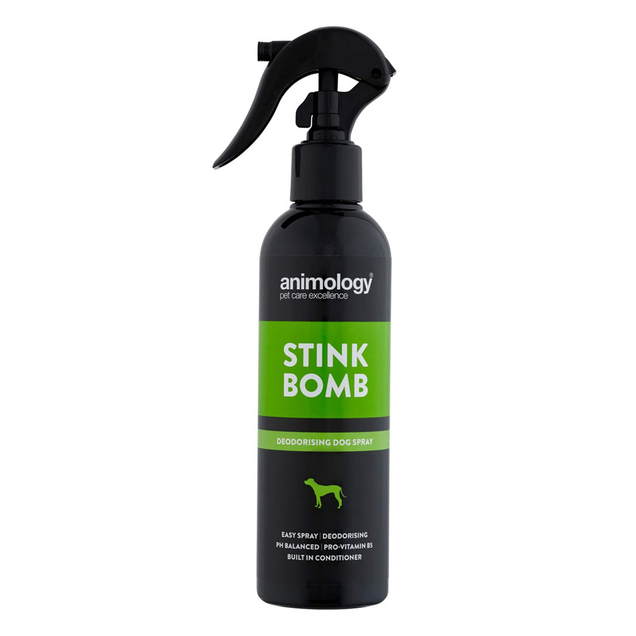 Animology Stink Bomb Deodorising Dog Spray 250ML 5789.