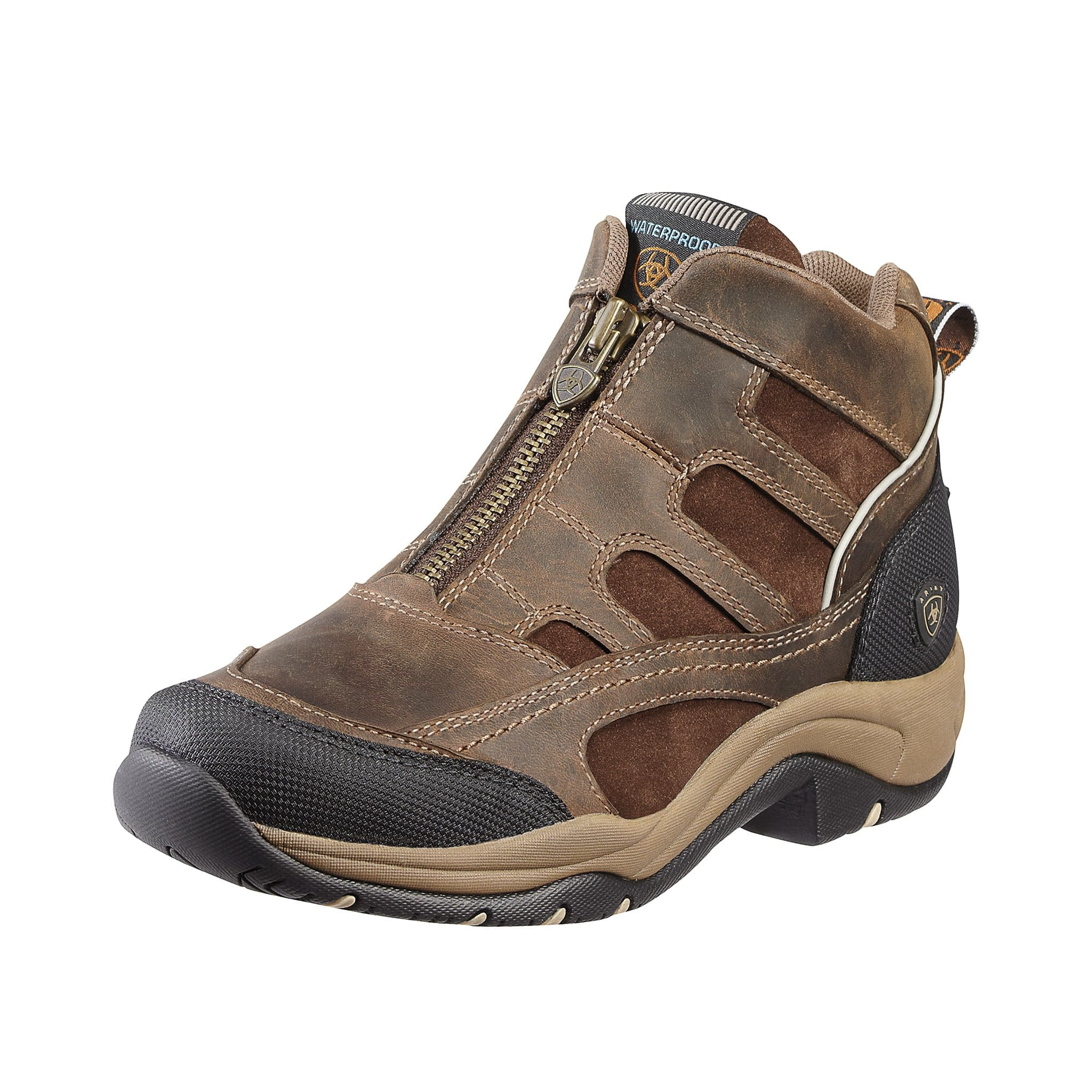 Ariat Terrain H2O Zip Boot in Distressed Brown 10010167