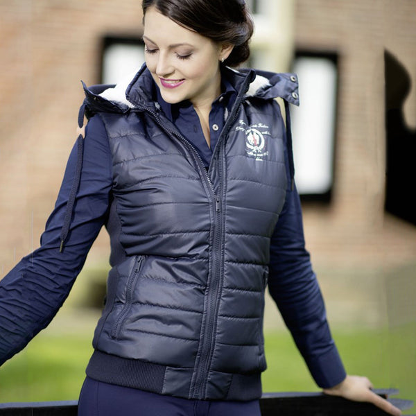 Cavallino Marino Siena Breathable Equestrian Horse Riding Padded Quilted Vest