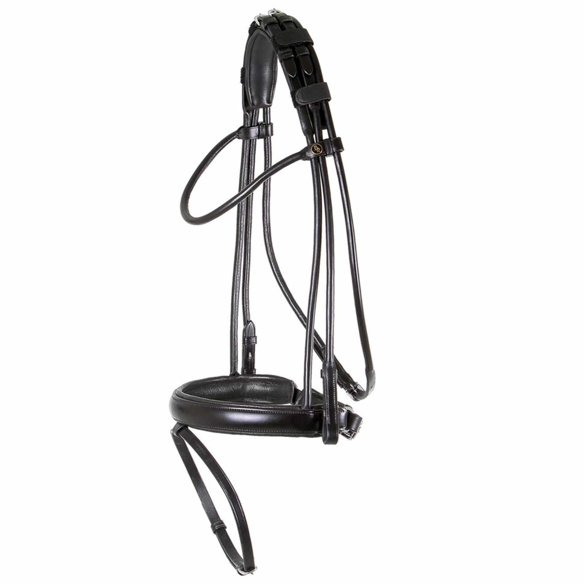 BR Equestrian Dartmouth Bridle Black 181050.