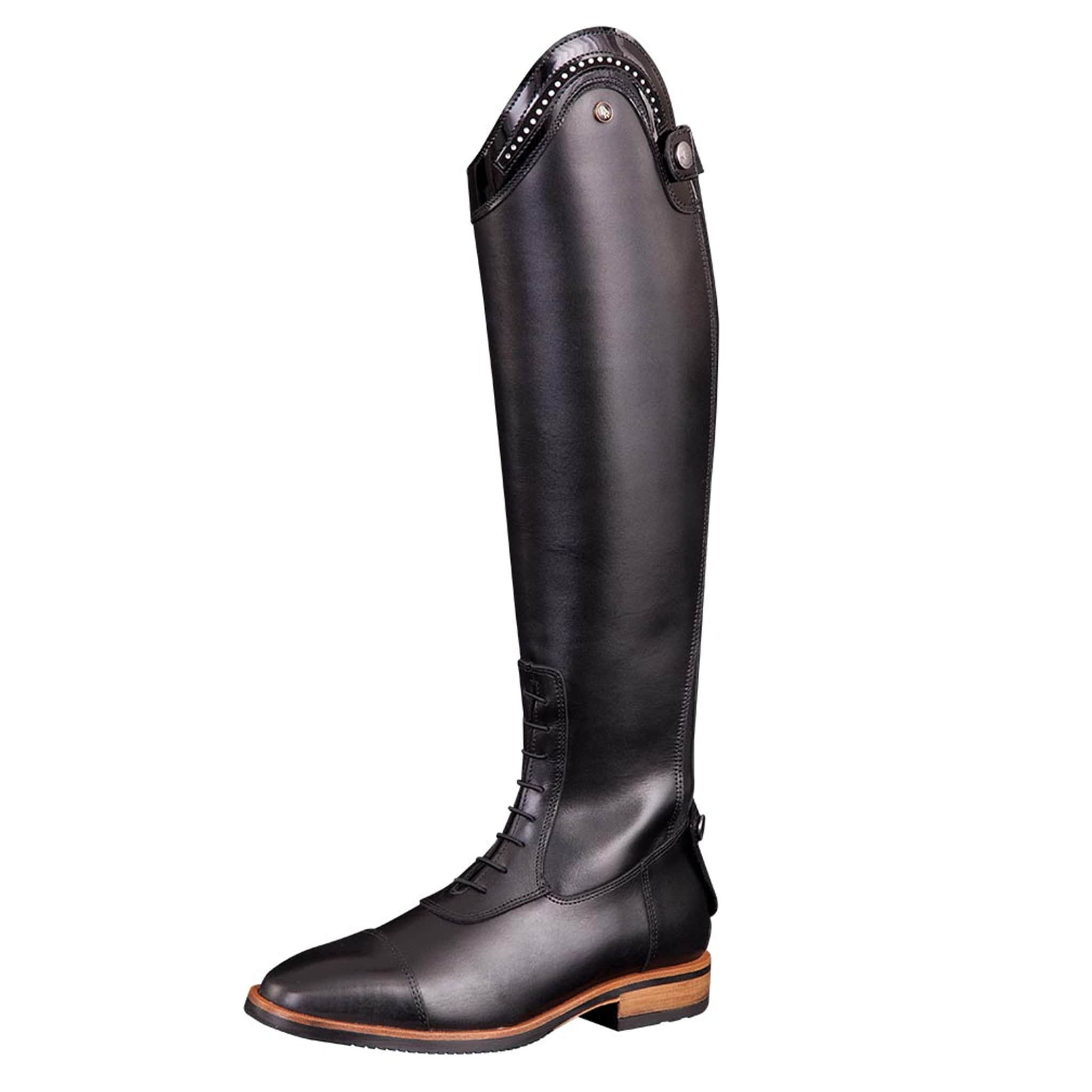 BR Equestrian Venetia Riding Boots Front And Outside Leg 5530.