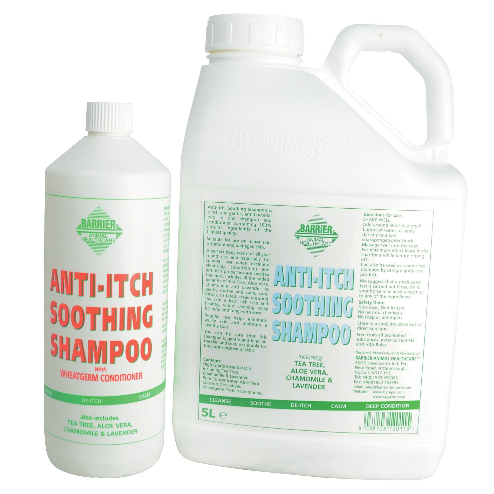 Barrier Anti-Itch Soothing Shampoo 8417