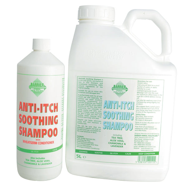 Barrier Anti-Itch Soothing Shampoo Group 8418