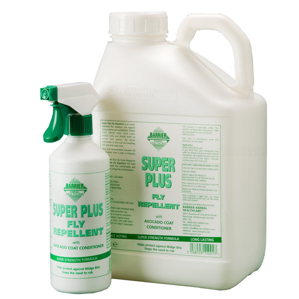 Barrier Super Plus Fly Repellent Spray Both