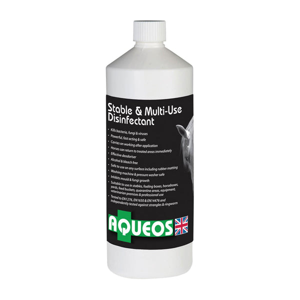 Aqueos Stable & Multi-Use Disinfectant 8573 1 litre Bottle