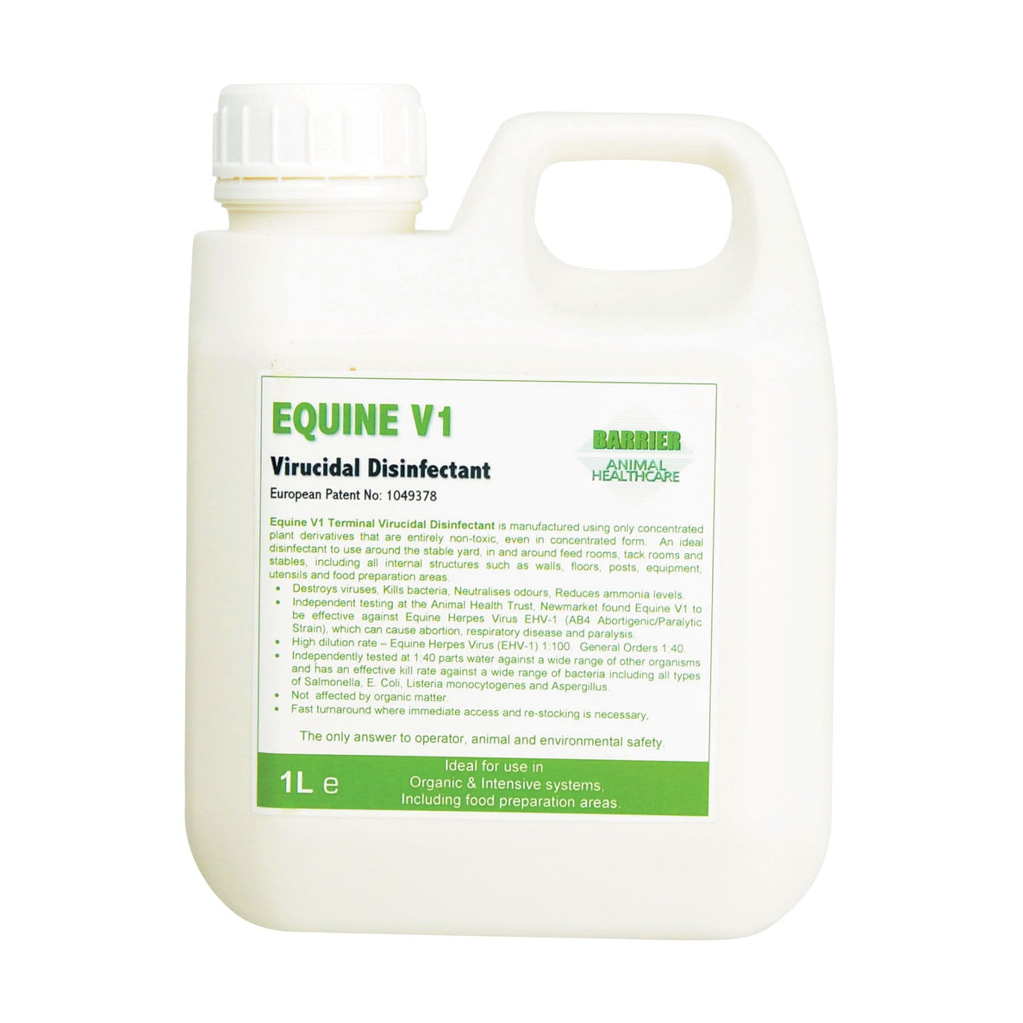 Barrier V1 Disinfectant 8493 1 litre