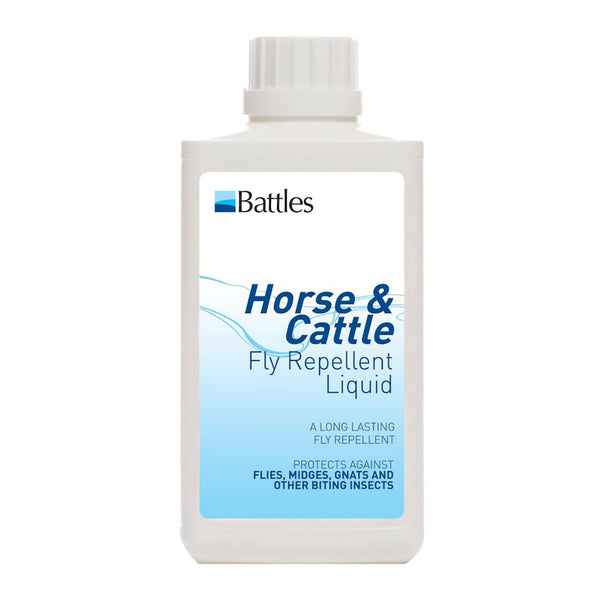 Battles Horse and Cattle Fly Repellent Liquid 500ml 3164