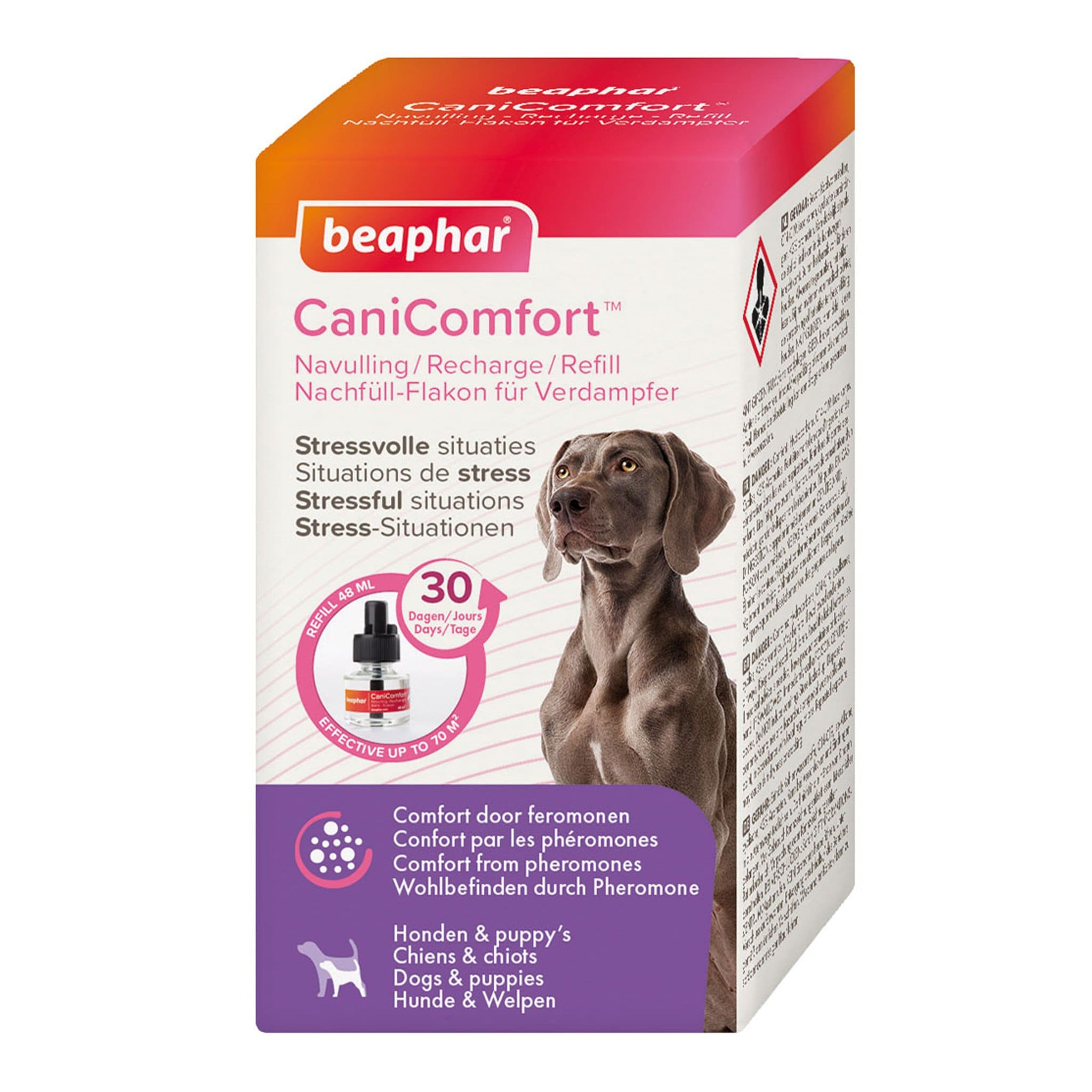 Beaphar CaniComfort Dog Calming Diffuser 30 Day Refill 48ml 27759