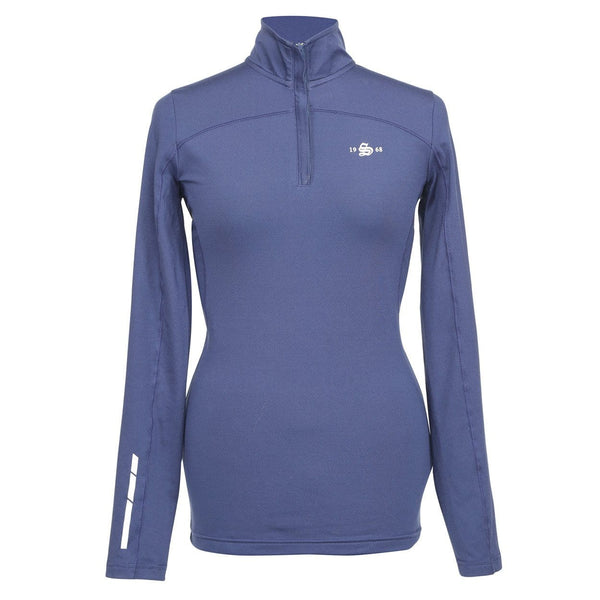 Shires Beijing Base Layer Top in Navy