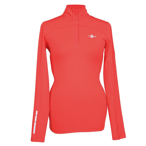Shires Beijing Base Layer Top in Red