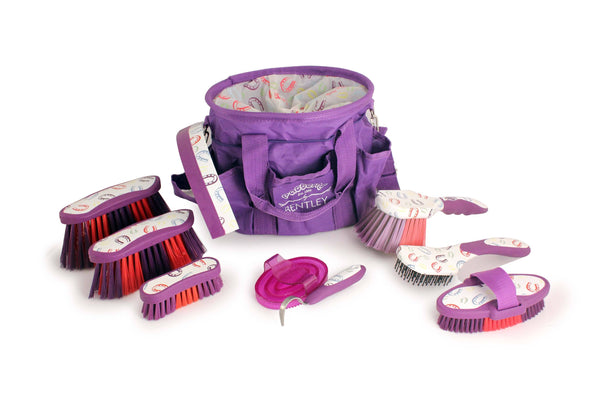 Bentley Patterns Horse Shoe Grooming Set Purple SPN1300
