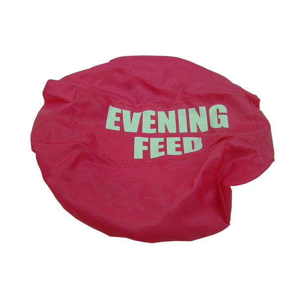 Bitz Evening Feed Bucket Cover Fluorescent Pink TRL7529