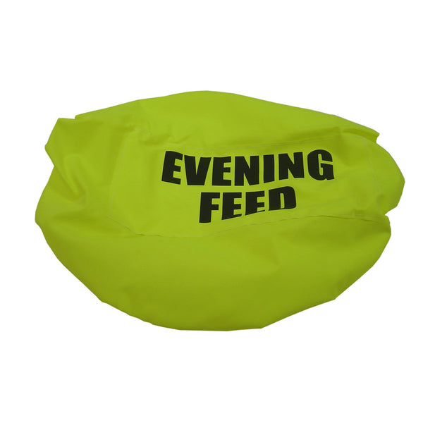 Bitz Evening Feed Bucket Cover Fluorescent Yellow TRL7528