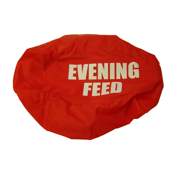 Bitz Evening Feed Bucket Cover Red TRL7520