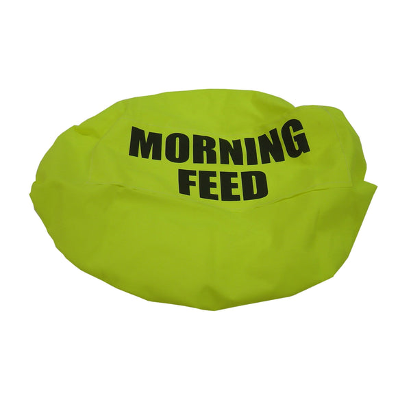 Bitz Morning Feed Bucket Cover Fluorescent Yellow TRL7509