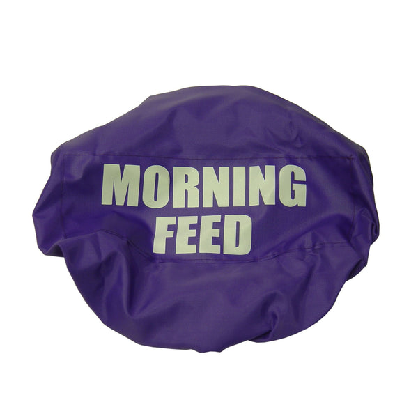 Bitz Morning Feed Bucket Cover Purple TRL7517