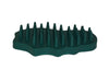 Bitz Rubber Groom Green Irregular Oval TRL8202
