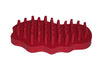 Bitz Rubber Groom Red Irregular Oval TRL8203