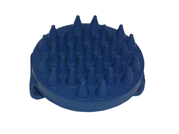 Bitz Rubber Groom Blue Round TRL8189