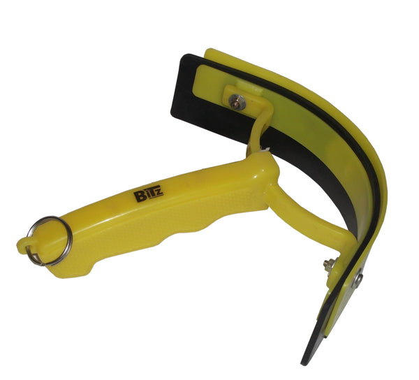 Bitz Sweat Scraper Yellow TRL8236