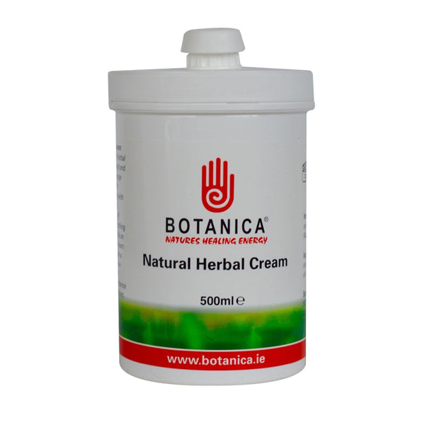 Botanica Natural Herbal Cream BOT0050 500ml Tub