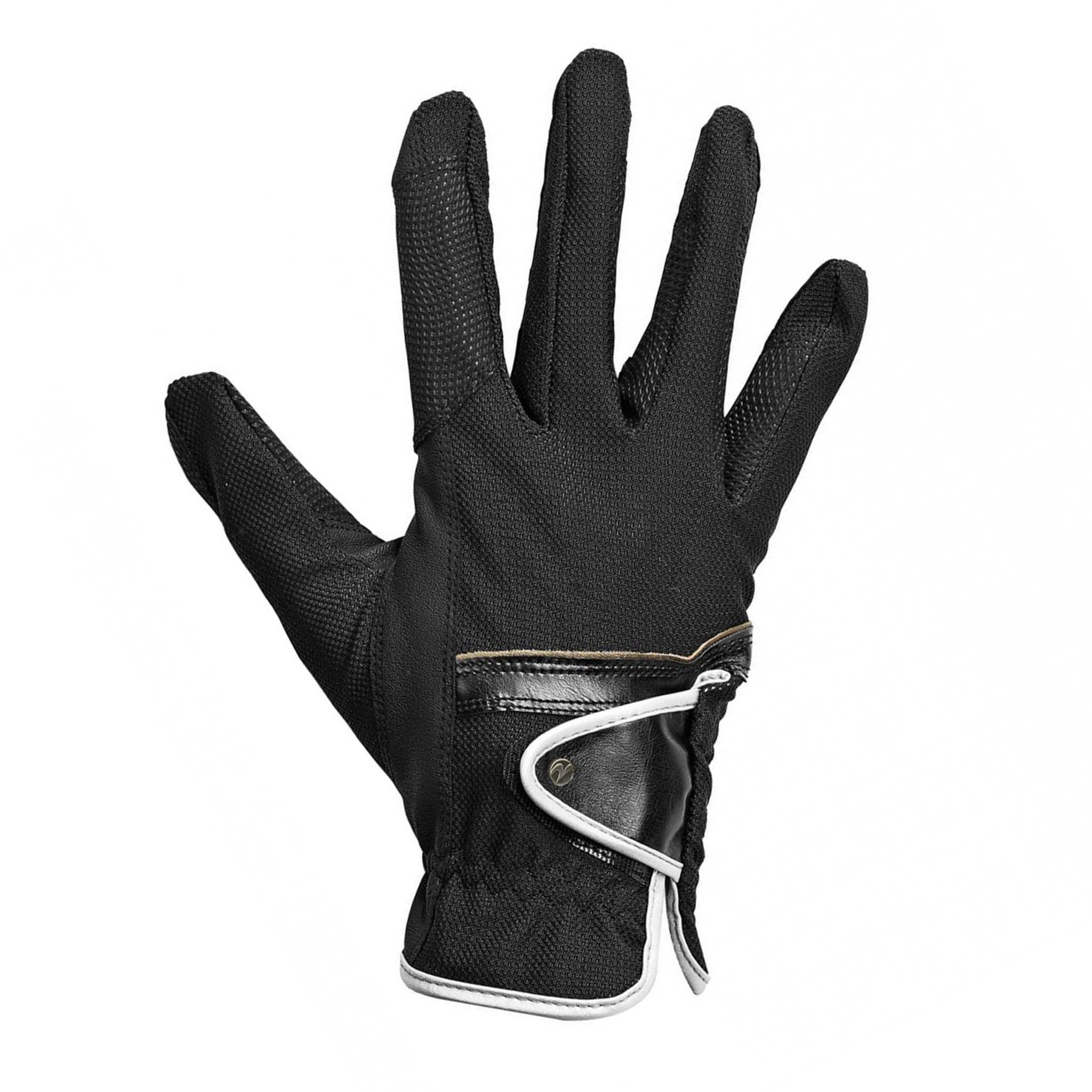 Busse Summer Riding Gloves Black 705242