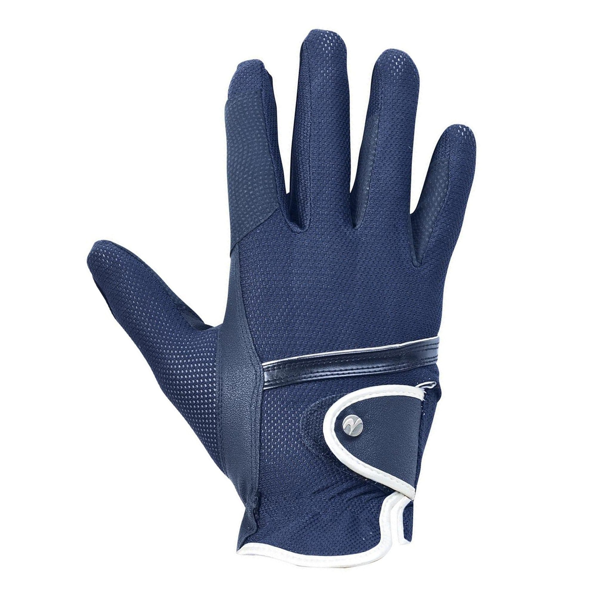 Busse Summer Riding Gloves Navy 705242