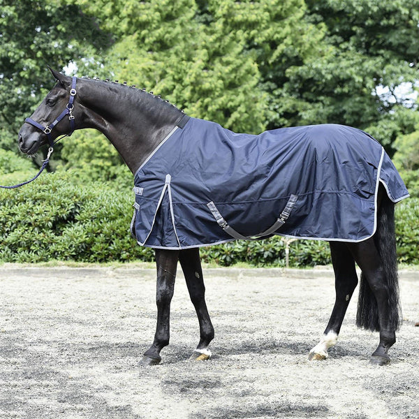 Busse Astana Winter 300 Thermo Turnout Rug Navy 603098