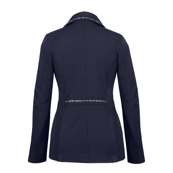 Busse Dortmund Show Jacket Navy Studio Rear View 760200