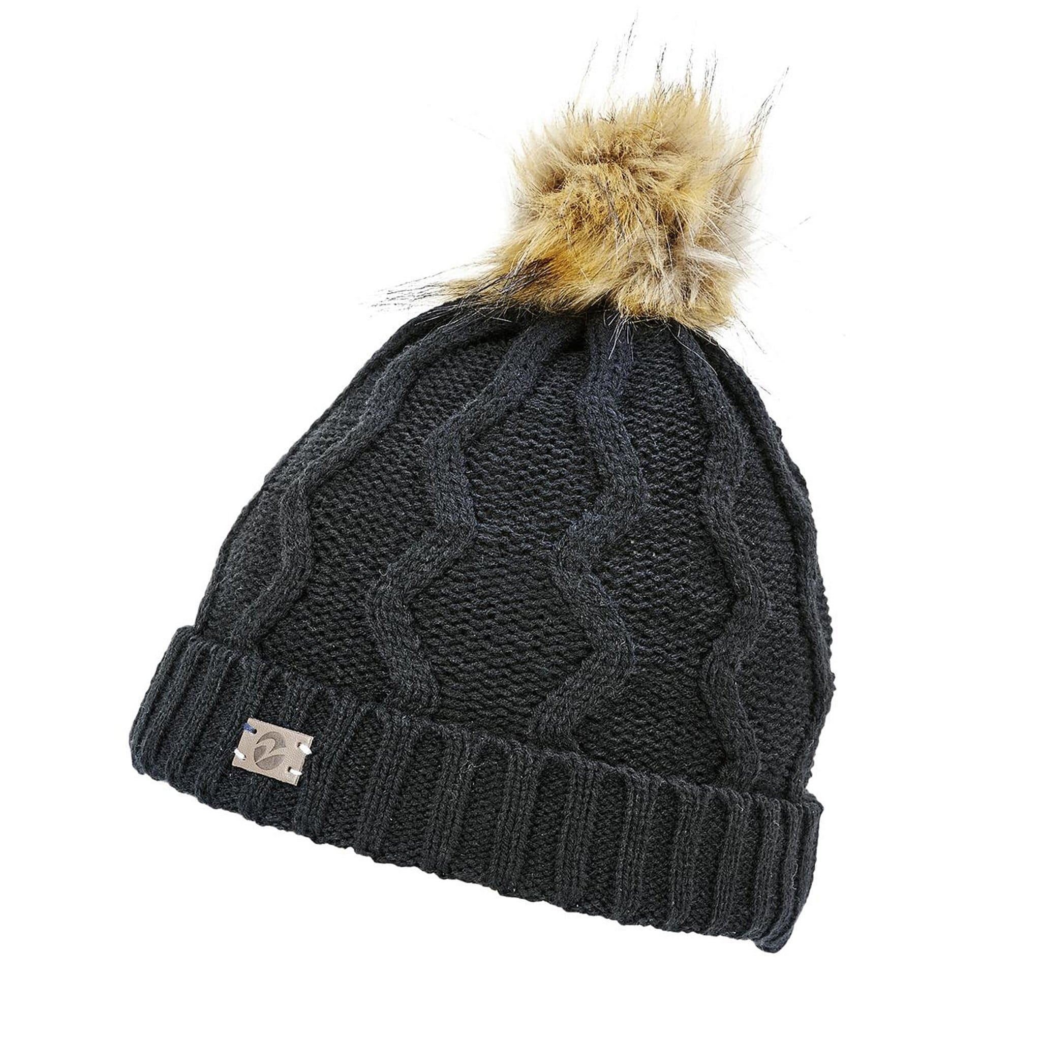 Busse Evolet Knitted Hat Black 71933.