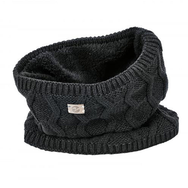 Busse Evolet Knitted Snood in Black 719332