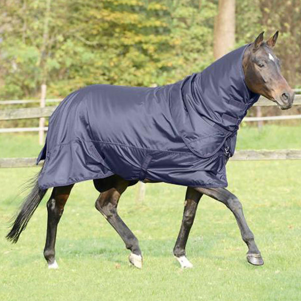 Busse Flexible 100 Thermo Turnout Rug RHS with Neck Cover 603175
