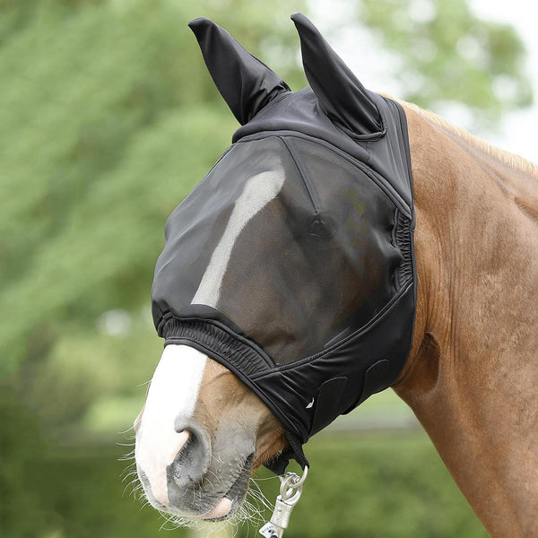 Busse Buckler Fly Mask Black 633025