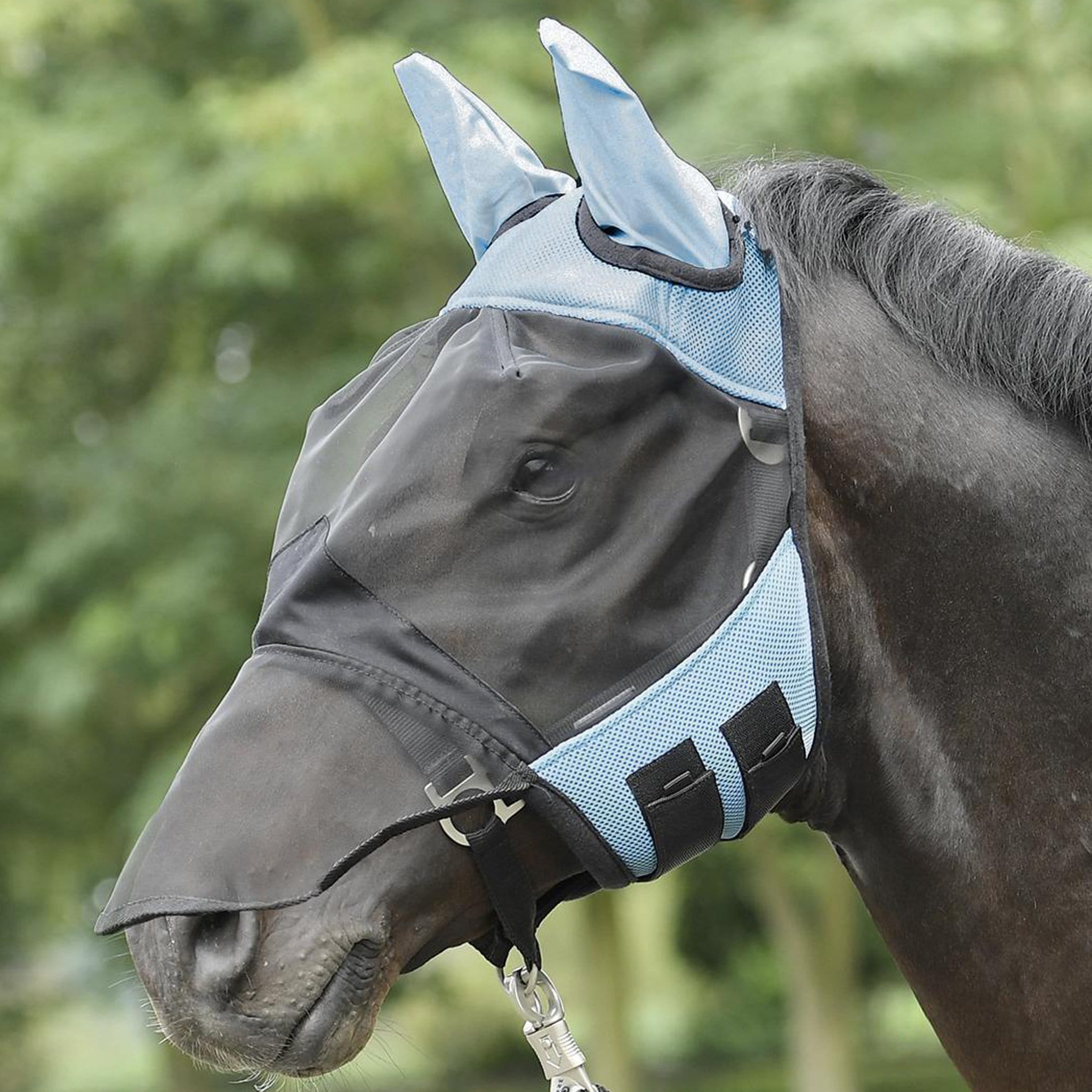 Busse Cover Pro Fly Mask Blue 633027