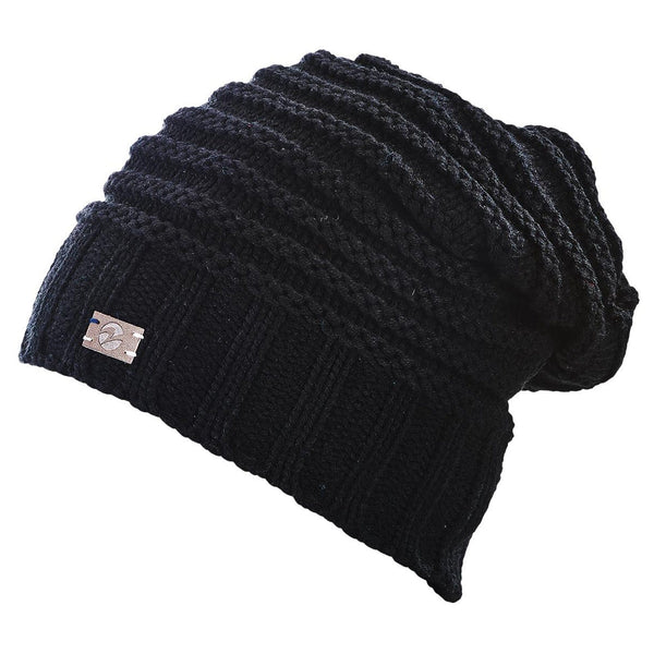 Busse Knitted Beanie in Black 719336