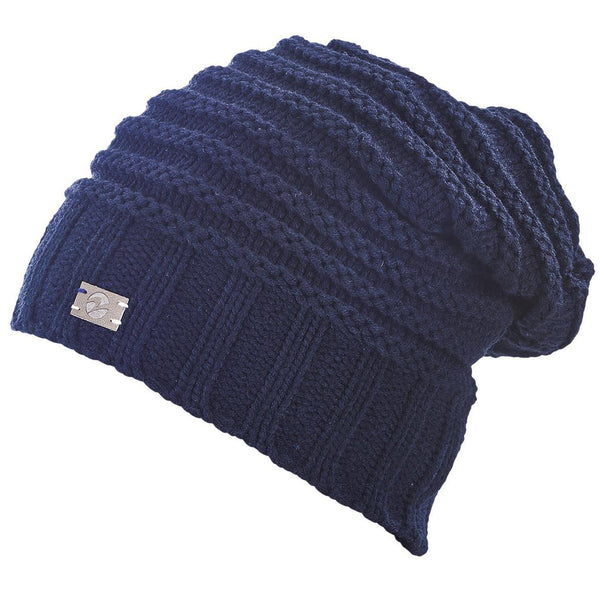 Busse Knitted Beanie in Navy 719336