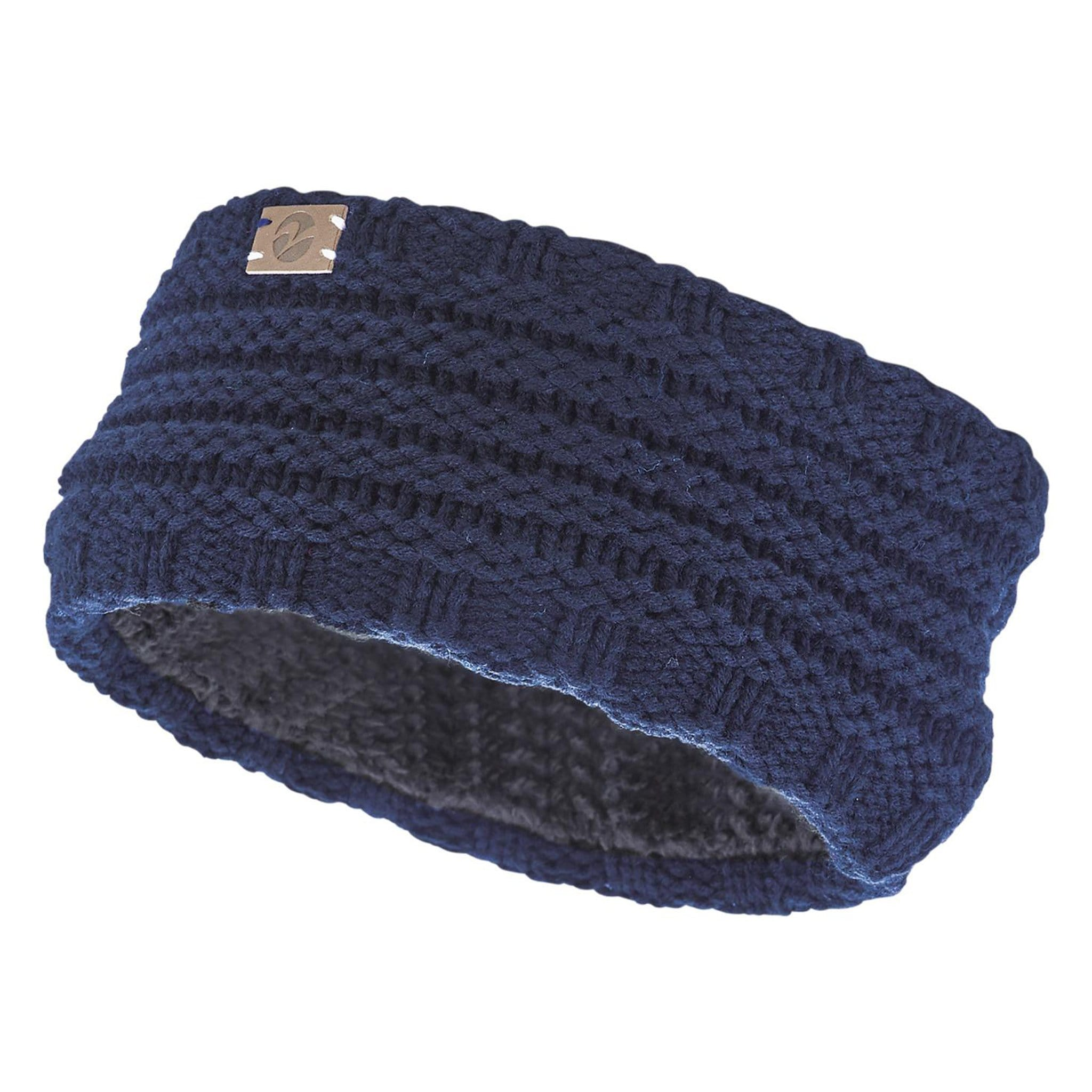 Busse Knitted Headband in Navy 719338