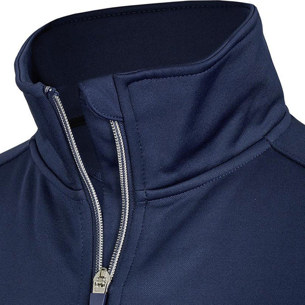 Busse Mila Tech Jacket Studio Navy Collar Detail 781135