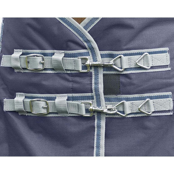 Busse Move Winter 200 Turnout Rug Navy Chest Fastenings 603094