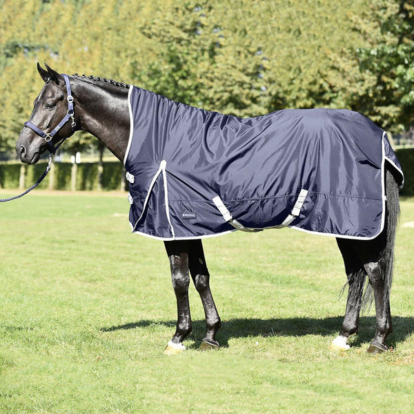 Busse Riga Light 100 Thermo Turnout Rug Navy 603157
